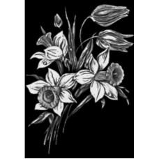 Купить Гравировка цветы gravfl6 - Минск, Бобруйск