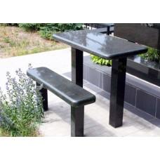 Стол и скамейка sk11