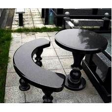 Стол и скамейка sk9