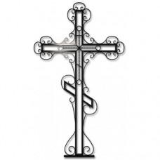 Крест на могилу krm14