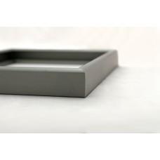 Рамка для медальона  профильная алюминиевая rm17 (сталь)