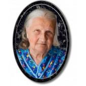 Фото и медальон на памятник