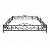 Металлические и кованые ограды